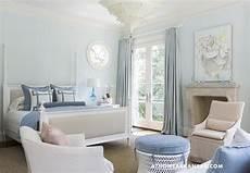 blue walls transitional bedroom glidden westerly wind at home in arkansas