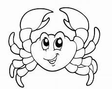 Ausmalbilder Meerestiere Gratis Kostenlose Malvorlage Sommer Krabbe Zum Ausmalen