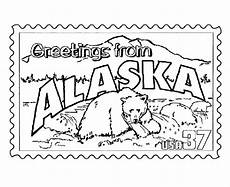 free coloring pages of alaska animals 17383 usa printables alaska state st us states coloring pages coloring pages alaska map crafts