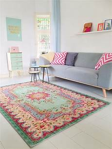 De Pastell Vintage Teppich Im Angesagten Shabby