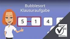 bubblesort beispiel algorithmus laufzeit java c