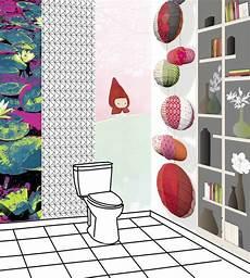 papier peint toilettes d 233 co wc hum 5 id 233 es pour la d 233 coration de toilettes