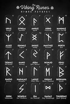 viking runes photograph by zapista ou