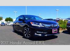 2017 Honda Accord EX L 2.4 L 4 Cylinder Review   YouTube