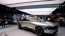 Mondial De L Auto Peugeot Frappe Fort Avec Concept E