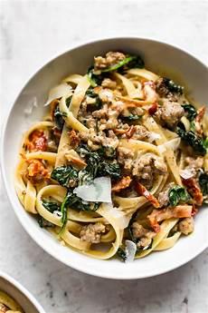 tuscan sausage pasta salt lavender