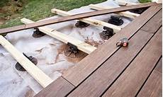 pose lambourde terrasse bois faire une terrasse sur lambourdes