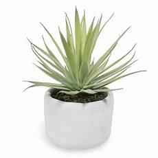 artificial yucca pot plant h 8cm maisons du monde