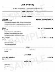 resume builder free online resume template canada