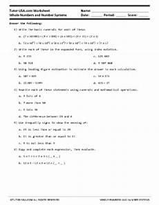 pre algebra worksheets 8536 worksheet whole numbers number systems expanded form estimation pre algebra printable