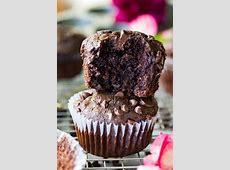 chocolate chocolate chip muffins_image