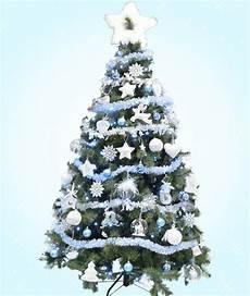 deco noel bleu et blanc sapin polaire blanc et bleu givr 233 sapin de noel blanc