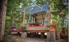 Builds Tiny Expandable Cabin For 700 In Montana