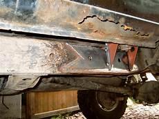 jeep wrangler schwachstellen das offroad forum hilfe starker rost am rahmen