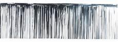 Rideau Lamelle 50x500 Cm Argent Le Deguisement