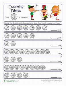 skip counting coins worksheets 11892 counting by tens dimes math worksheets money activities money worksheets
