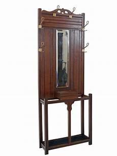 garderobe wandgarderobe flurgarderobe antik um 1920 eiche