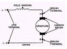 115 volt ac single phase motor armature and fields wiring diagram