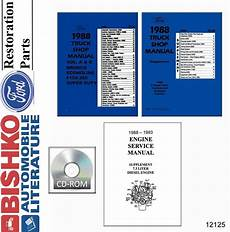 service and repair manuals 1988 ford f series windshield wipe control 1988 ford truck bronco econoline shop service repair manual cd ebay
