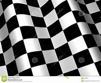 Racing Race Checkered Flag Background Stock Illustration