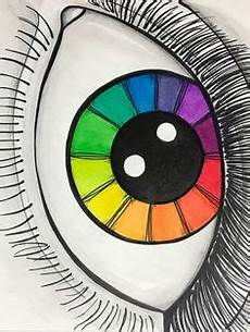 eye color wheel exle by l l washburn flyingbystandergoods inspiration teaching art