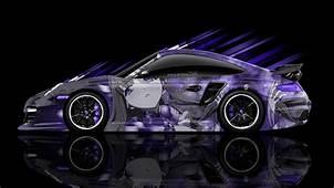 Porsche 911 GT2 Side Anime Aerography Car 2014  El Tony