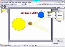 Fieyhaniezz Tutorial Membuat Animasi Gerhana Matahari