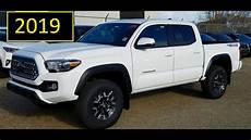 2019 toyota tacoma cab trd road in white