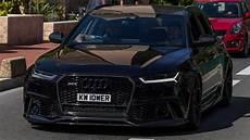740hp Audi Rs6 Avant W Milltek Exhaust Driving And Loud