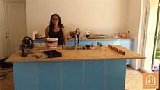 un plan de travail en bois massif 224 petit prix bricolage