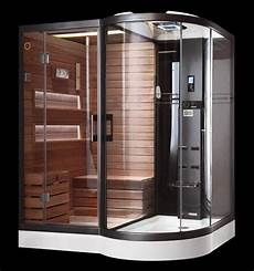 sauna shower combo for our basement home spa room