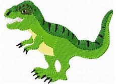 Malvorlagen Dinosaurier T Rex Junior Stickmuster T Rex Dinosaurier Tyrannosaurus Rex 10x10cm
