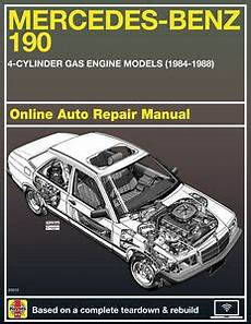 online auto repair manual 1987 mercedes benz w201 electronic valve timing 1985 mercedes benz 190e haynes online repair manual select access ebay