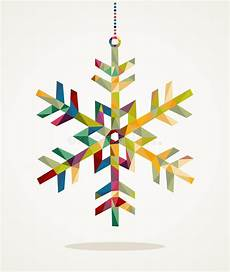 merry christmas snowflake shape with triangle composition eps10 stock vector illustration of