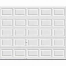 garage doors 8 x 10 ideal door 174 10 ft x 8 ft 5 white insul torsion