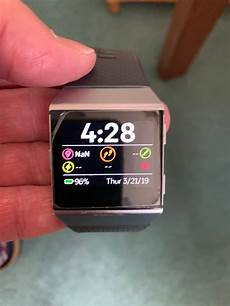 solved resetting your ionic fitbit community