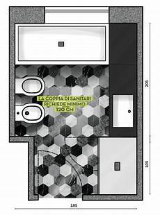 progetto bagno bagno in 6 5 mq via libera ai decori progetto in 3d