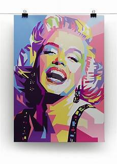 bilder pop marylin pop canvas print or poster canvas