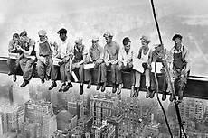 on girder new york lunch atop a skyscraper skyline