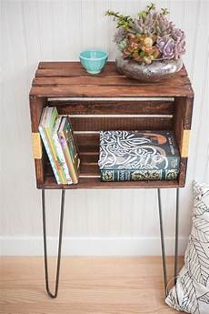Ideen Aus Weinkisten - get the bedside table even if you don t the