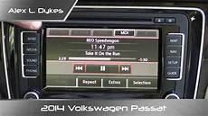 2014 volkswagen passat rns 510 infotainment review