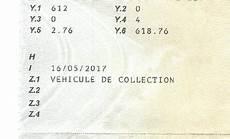 rubrique carte grise voiture de collection et administration une affaire de