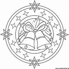 Malvorlagen Weihnachten Mandala Mandala Vorlage Mit Glocken Ausmalbild Zu Weihnachten
