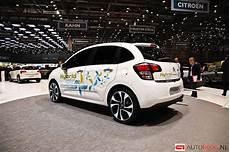 Beurzen Geneve 2013 Citroen C3 Hybrid Air Afbeeldingen