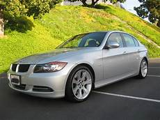 2007 bmw 335i sedan silver on black with sport package and