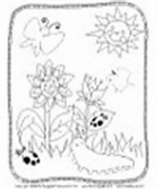 Ausmalbild Schmetterling Und Raupe Schmetterling Raupe Marienk 228 Fer Basteln Und Lernen