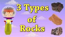 3 types of rocks aumsum kids education science