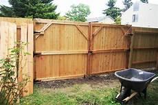 zauntor selber bauen wooden gates