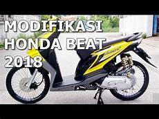 Modifikasi Beat Cbs 2018 by Modifikasi Honda Beat 2018