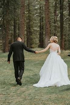 This Stunning Forest Wedding Takes Place At A Mountain Venue